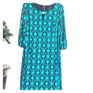 NYOP! Engocus studio 3/4 sleeve dress